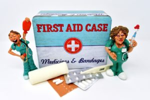 Picture of first aid